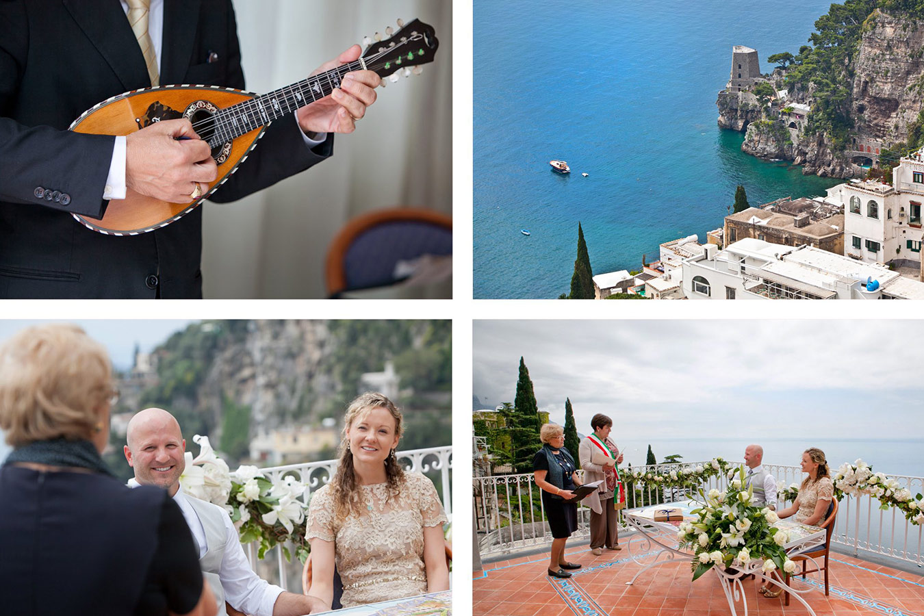 romantic elopement in Positano Amalfi Coast