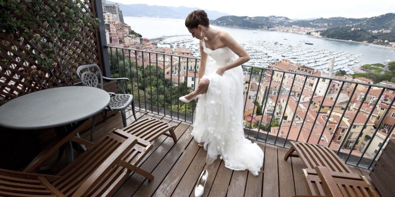 elope in the Italian Riviera