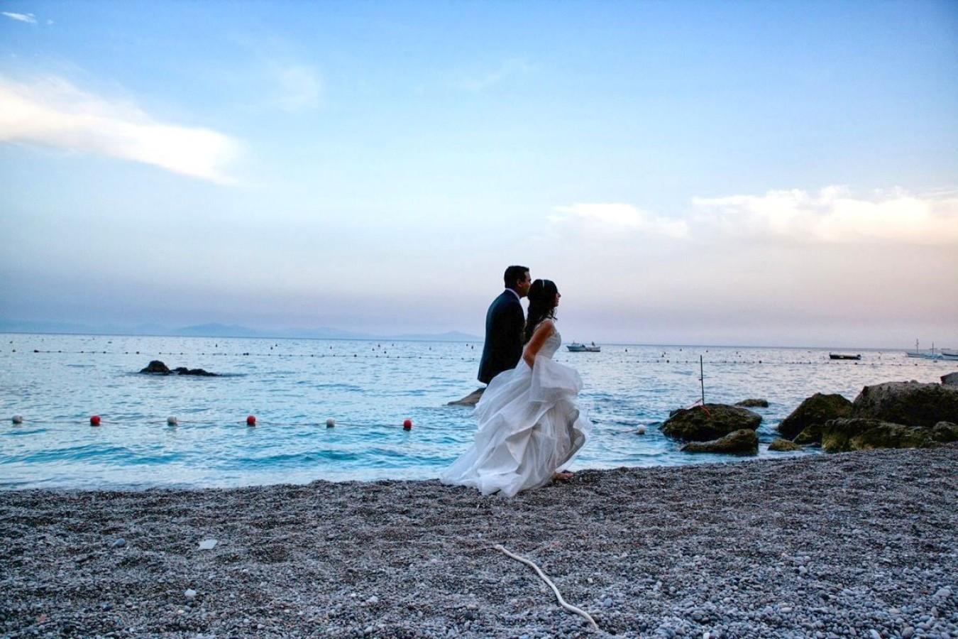elope in Positano Italy