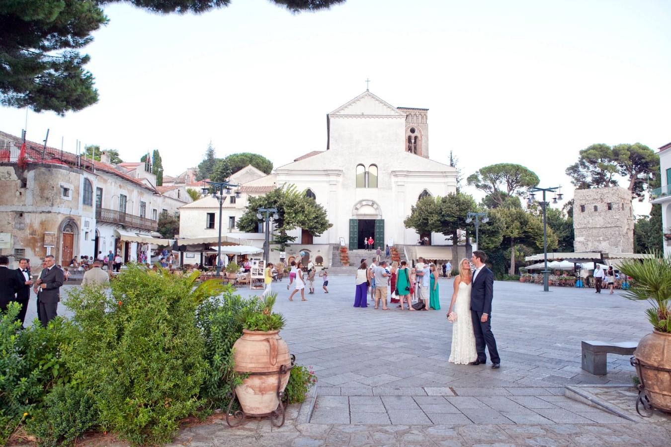 micro wedding on the Amalfi Coast